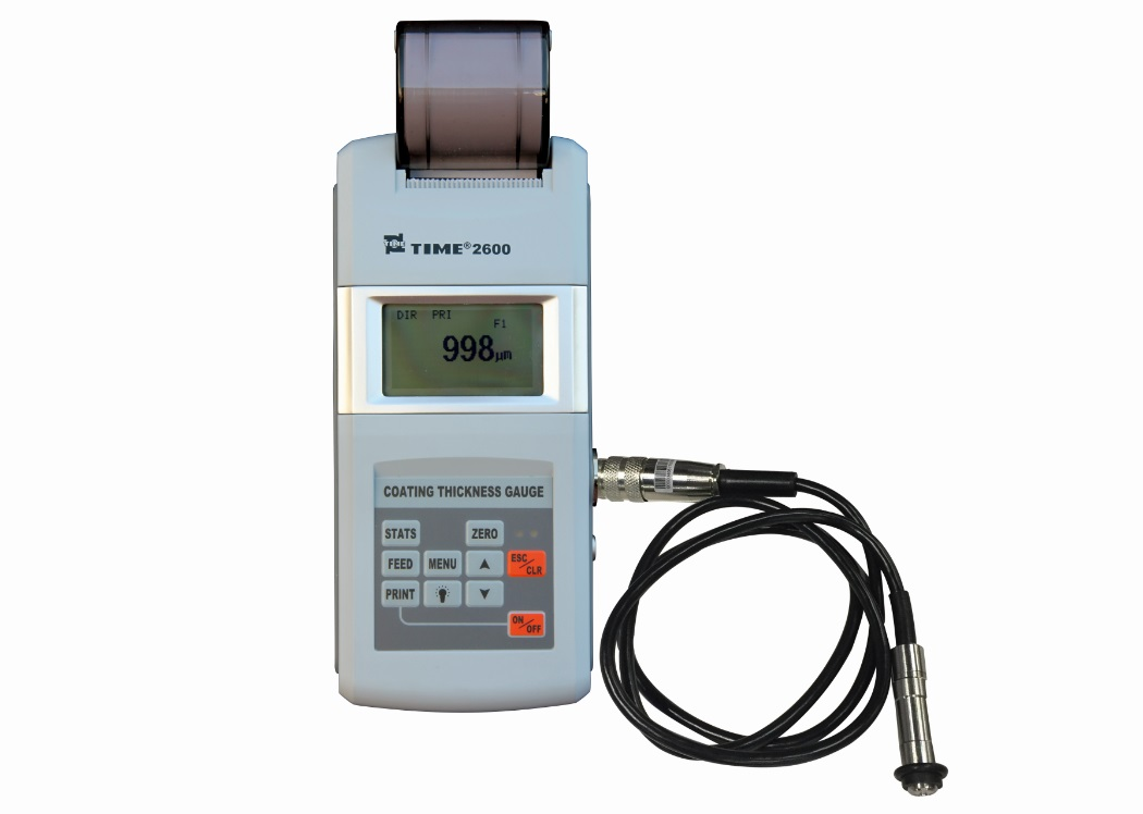 Coating Thickness Gauge TIME®2600 bestselling, N and NF type, six probes